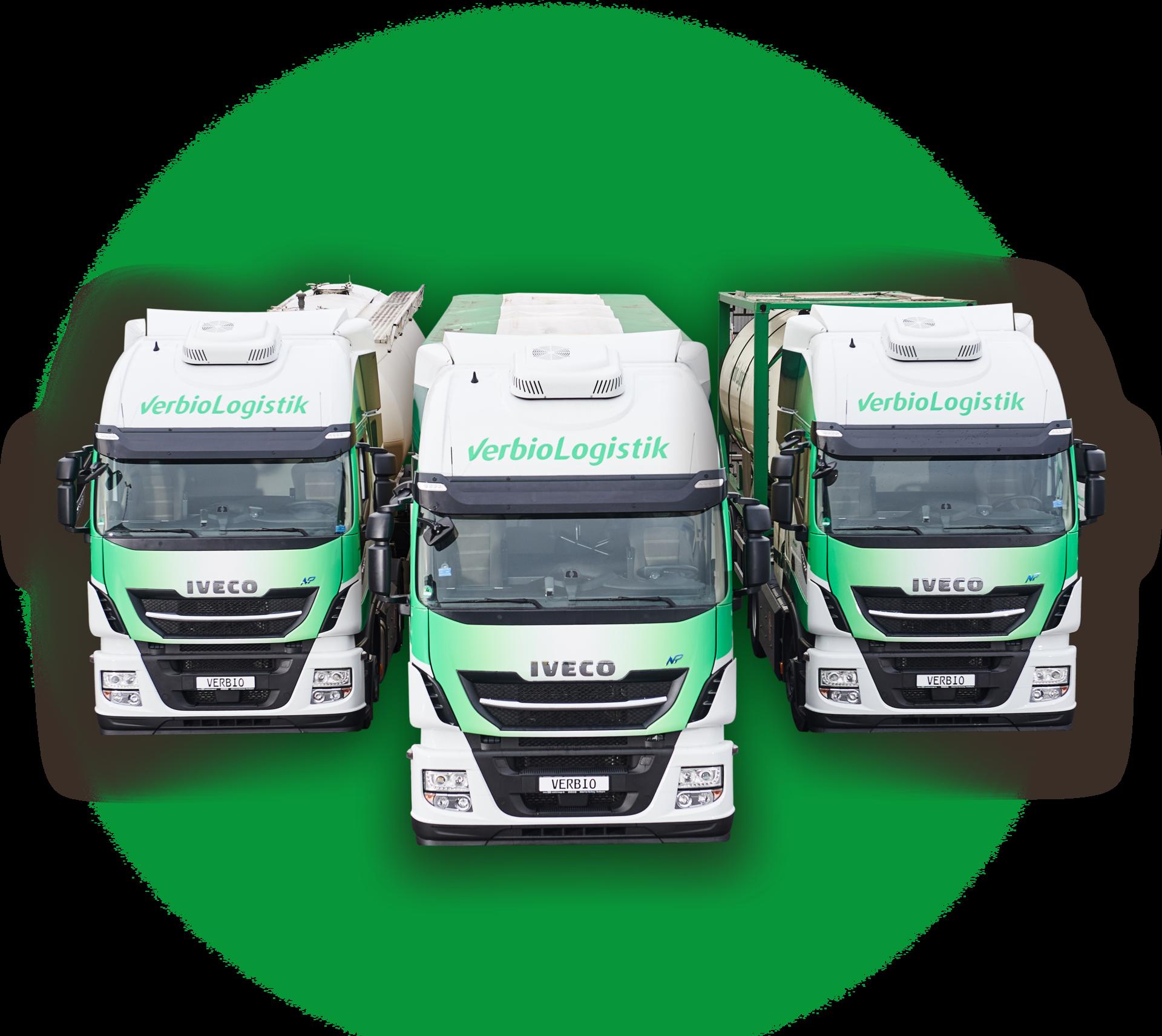 LKW-Flotte fährt mit Biogas von verbiogas